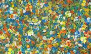 Sale 8647 - Lot 596 - Tess M - Wild Bush Flowers 82 x 134cm