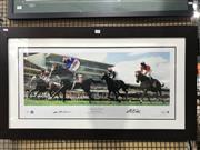 Sale 8805A - Lot 816 - Makybe Diva, sigend & framed with COA