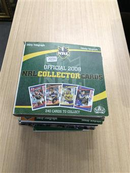 Sale 9180 - Lot 2056 - NRL Collectors Cards in Albums