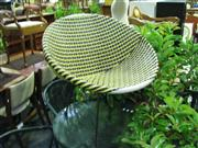 Sale 7937A - Lot 1160A - Saucer Chair in Black & Yellow