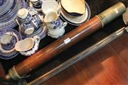 Sale 8336 - Lot 75 - Brass Telescope Marked Doolan London