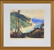 Sale 8394 - Lot 566 - Thomas Garrett (1879 - 1952) - North Coast 27 x 32.5cm