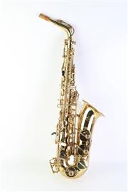 Sale 8783 - Lot 38 - Carl Hensberg Sax in Case