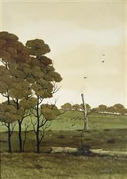 Sale 8867A - Lot 5075 - Michael Taylor (1939-) - Moss Vale Property (1978) 25 x 35 cm