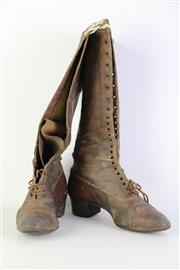 Sale 8873 - Lot 74 - Early 20th Century Ladies Leather Boots