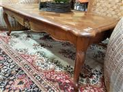 Sale 8680 - Lot 1054 - Parquetry Top French Style Coffee Table