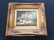Sale 8969 - Lot 2009 - A Dutch Style Still Life Grapes & Stone Fruitoil on board, 40 x 45cm, unsigned -