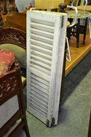 Sale 8124 - Lot 1086 - Pair of Timber Window Shutters