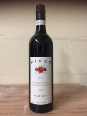 Sale 8677B - Lot 944 - Four bottles of Claire valley pikes sangiovese merlot cabernet  sauvignon 2004