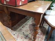 Sale 8744 - Lot 1041 - Pine Kitchen Table