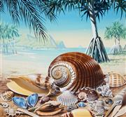 Sale 8943A - Lot 5003 - Ralph Malcolm Warner (1902 - 1966) - The Shells of Queensland, c1959 gouache