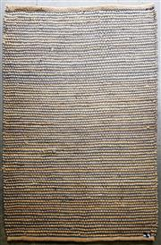 Sale 8959 - Lot 1038 - Woven Floor Covering with Black High Lights (228 x 162cm)