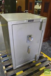 Sale 8326 - Lot 1764 - Chubb Combination Safe. Combination and Key in Office (108x 73 x 72)