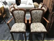 Sale 8805 - Lot 1076 - Set Of Six Jackson Dining Chairs