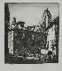 Sale 3713 - Lot 62 - Lionel Lindsay - Little Square, Segovia 22.5 x 20 cm