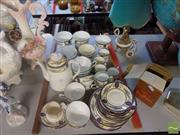 Sale 8470 - Lot 93 - Grafton and Sons Tea Service ( Some A.F)