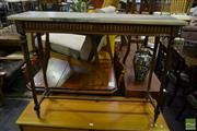 Sale 8499 - Lot 1389 - Marble Top Victorian Style Console