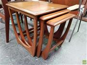 Sale 8585 - Lot 1095 - G-Plan Teak Nest of Tables