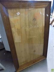 Sale 8561 - Lot 2095 - Oak Picture Frame (40 x 68cm)