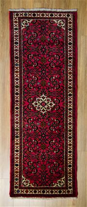 Sale 8576C - Lot 11 - Persian Husseinabad Runner 195cm x 70cm