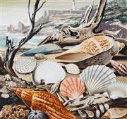 Sale 8943A - Lot 5005 - Ralph Malcolm Warner (1902 - 1966) - The Shells of Tasmania, c1959 gouache