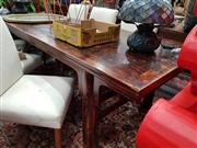 Sale 8834 - Lot 1040 - Coco Republic Oriental Themed Dining Table