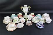 Sale 8835 - Lot 8 - Royal Worcester Cup & Saucer with Other Ceramics incl. Royal Albert