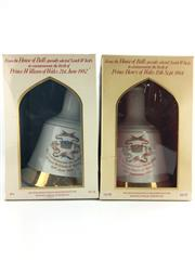 Sale 8454W - Lot 50 - 2x Bells Blended Scotch Whisky - to commemorate the birth of Princes William & Harry, in box (box damaged), both 500ml