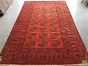 Sale 8480 - Lot 1049 - Vintage Afghan Qunduzi - approx. 40 years old (295 x 190cm)