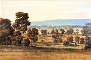 Sale 8558 - Lot 590 - Michael Taylor (1933 - ) - Looking Towards Hazy Hills 60 x 90cm