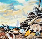 Sale 8943A - Lot 5007 - Ralph Malcolm Warner (1902 - 1966) - The Shells of Western Australia, c1959 gouache