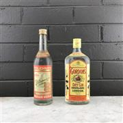 Sale 8976W - Lot 36 - 1x Old White Spirits - Gordons Gin & Stolichnaya Vodka
