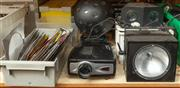 Sale 8984M - Lot 9 - A large quantity of event lighting together with an electric projector