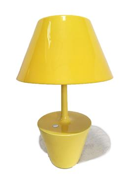 Sale 9117 - Lot 1042A - Metalarte concept table lamp in yellow by Teresa Amarillo