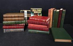 Sale 9254 - Lot 2295 - 2 Boxes of Books incl Ian Fleming For Your Eyes Only 1960 The Book Club & The Swiss Family Robinson 1961 Collins