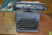 Sale 8310 - Lot 1095 - Early Olympia Typewriter