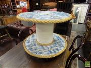 Sale 8495F - Lot 1099 - Reel Form Occasional table