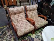 Sale 8566 - Lot 1307 - Pair of Vintage Armchairs