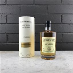Sale 9089W - Lot 65 - Great Southern Distilling Company Limeburners PX Sherry Cask SIngle Malt West Australian Whisky - 43% ABV, 700ml in canister