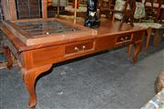 Sale 8013 - Lot 1226 - Timber Occasional Table on Cabriole Legs