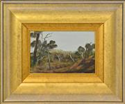 Sale 8394 - Lot 527 - Ray Crooke (1922 - 2015) - Cooktown, North Queensland 14 x 22cm