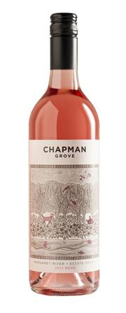 Sale 8528W - Lot 123 - 12x 2017 Chapman Grove Estate Rose. Bright and vibrantly rich in colour with a lovely perfume and hints of wild raspberries dusted...