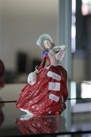 Sale 8160 - Lot 2 - Royal Doulton Autumn Breezes Figure