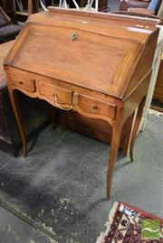 Sale 8542 - Lot 1061 - Nice French Cabriole Desk with Secret Drawer