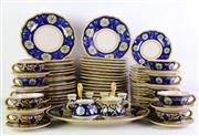 Sale 8940T - Lot 664 - Italian Handpainted Dinner Setting for Eight People