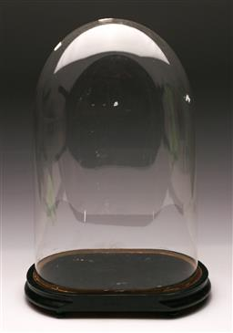 Sale 9114 - Lot 75 - A Large Glass Display Dome (H 51.5cm)