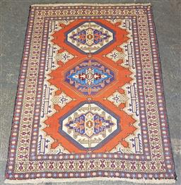 Sale 9129 - Lot 1070 - Hand knotted pure wool Persian Hamadan (155x115cm)