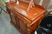 Sale 7987A - Lot 1347 - Chiffonier with 2 Drawers above 2 Arched Doors