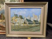 Sale 8417T - Lot 2068 - David Nalder, Old Balmain, oil on canvas board, 26.5 x 34cm, signed lower left
