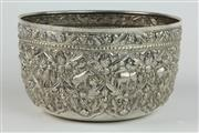 Sale 8456 - Lot 56 - Indian-Burmese Silver Bowl